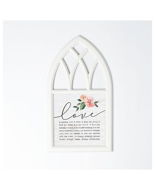 P Graham Dunn Love Chapter Wall Art
