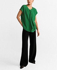 Draped Detail Blouse