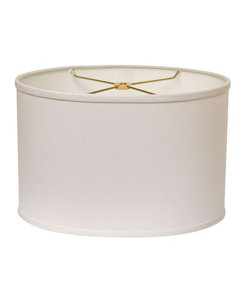 Cloth&Wire Slant Retro Oval Hardback Lampshade with Washer Fitter