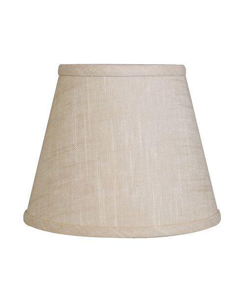 Cloth&Wire Slant Empire Hardback Lampshade with Bulb Clip