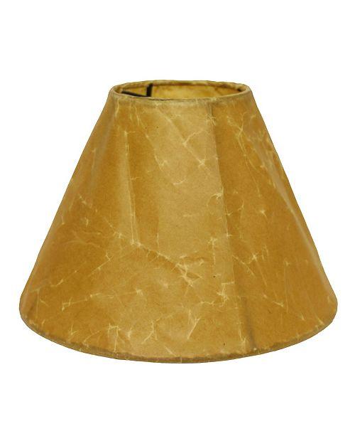 Cloth&Wire Slant Empire Softback Lampshade with Bulb Clip