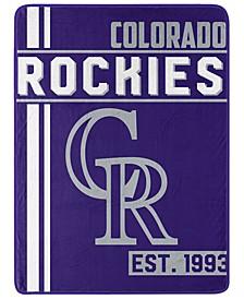 Colorado Rockies Micro Raschel Walk Off Blanket