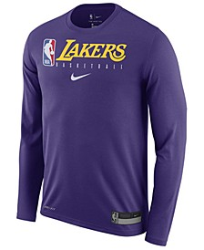 Men's Los Angeles Lakers Team Practice Long Sleeve T-Shirt