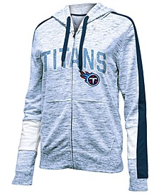 Women's Tennessee Titans Space Dye Full-Zip Hoodie