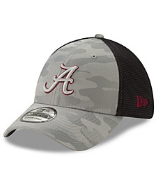 Alabama Crimson Tide Gray Camo Neo 39THIRTY Cap