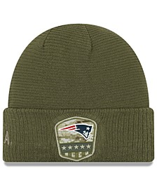 New England Patriots On-Field Salute To Service Cuff Knit Hat