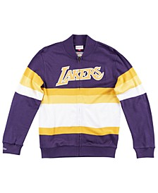 Men's Los Angeles Lakers Front Stripe Sweater