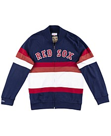 Men's Boston Red Sox Authentic Sweater Jacket