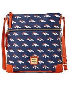 Denver Broncos Saffiano Large Crossbody