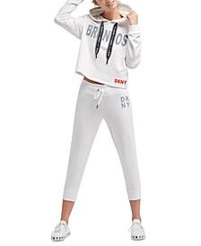DKNY Women's Denver Broncos Maddie Hoodie