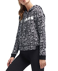 DKNY Women's Chicago Bears Urban Hoodie