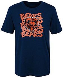 Little Boys Chicago Bears Graph Repeat T-Shirt