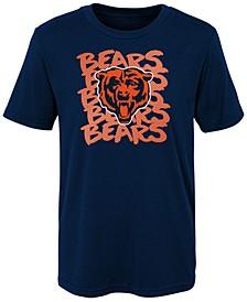 Little Boys Chicago Bears Graph Repeat T-Shirt