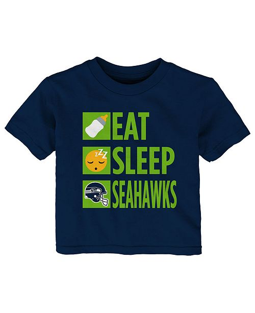 Outerstuff Baby Seattle Seahawks Daily Agenda T-Shirt