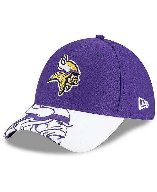 New Era Minnesota Vikings Logo Crop 39THIRTY Cap