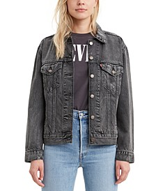 Women's Cotton Denim Trucker Jacket