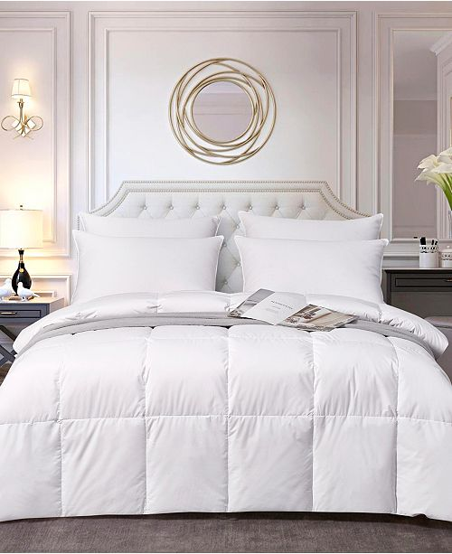 Elle Decor ELLE DÉCOR All Season White Down Fiber Comforter, King
