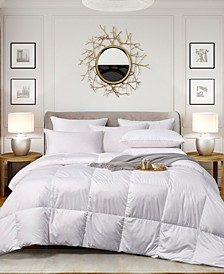 Ultra-Soft Nano-Touch Extra Warmth White Down Fiber Comforter, King