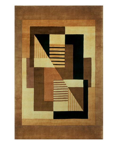 Momeni Area Rug, Perspective Camacho Gold 8' x 11'