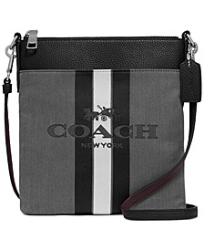 Kitt Messenger Crossbody With Horse And Carriage