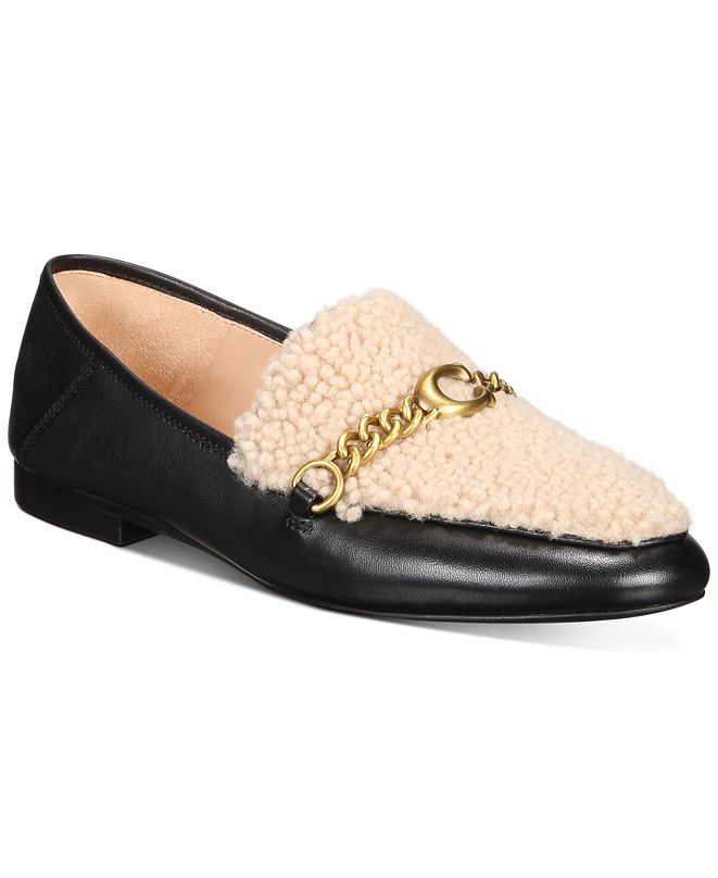COACH Women's Helena C Chain Loafers