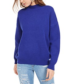 Mock-Neck Pullover Sweater
