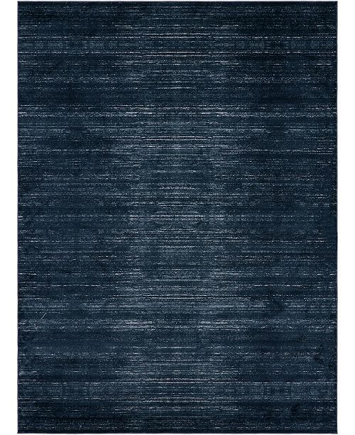 Jill Zarin Madison Avenue Uptown Jzu001 Navy Blue 9' x 12' Area Rug
