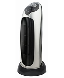 "H-7317 17"" Oscillating Tower Heater with Digital Temperature Readout"