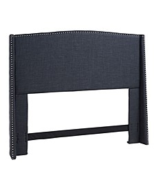 Stratford Upholstered Wing Headboard, King/California King
