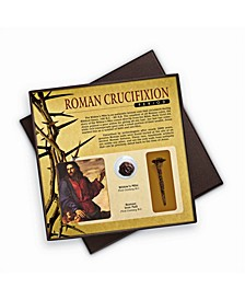 Roman Crucifixion Period Widow's Mite and Nail Collection