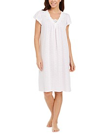 Jacquard Knit Nightgown