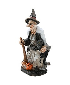 """18"""" Witch Halloween Table Decor"""