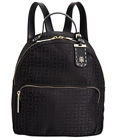 Julia Logo Jacquard Dome Backpack, Created for Macy's