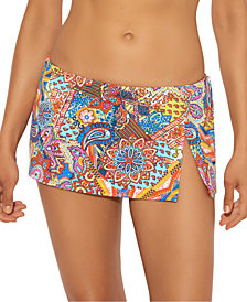 Bleu by Rod Beattie Printed Skirted Hipster Bottom