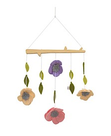 Painterly Floral Ceiling Mobile