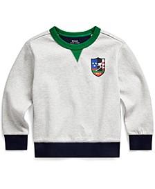 Toddler Boys Downhill Skier Cotton-Blend Ponte Pullover