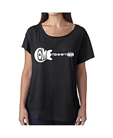 Women's Dolman Cut Word Art Shirt - Come together