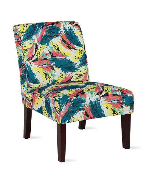Dorel Living Quin Armless Accent Chair