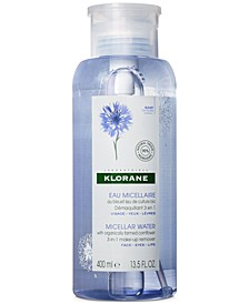 Micellar Water With Organically Farmed Cornflower, 13.5-oz.
