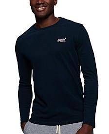 Men's Orange Label Embroidered Logo T-Shirt