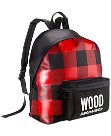 Receive a Free Backpack with any large spray or set purchase from the Men's or Women's Wood fragrance collections