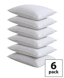 Master Block Easy Care Pillow Protector 6-Pack, Standard/Queen