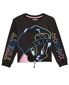 Big Girls Tweety Bird Drawcord Shirt