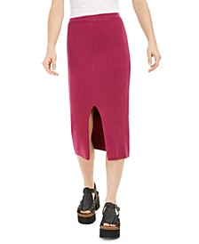 Skyline Midi Sweater Skirt