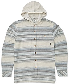 Big Boys Baja Hooded Flannel Shirt