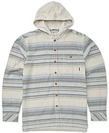 Toddler & Little Boys Baja Hooded Flannel Shirt
