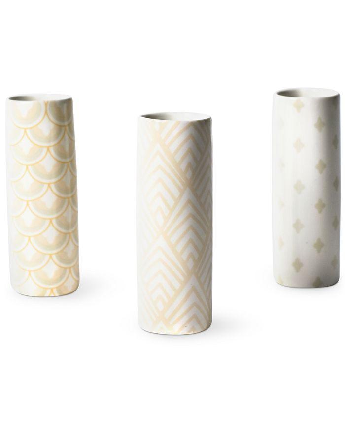 Coton Colors - Blush Tube Vases, Set of 3