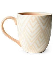 by Laura Johnson Blush Layered Diamond Mug