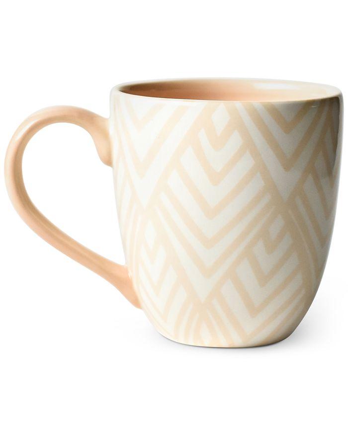 Coton Colors - Blush Layered Diamond Mug