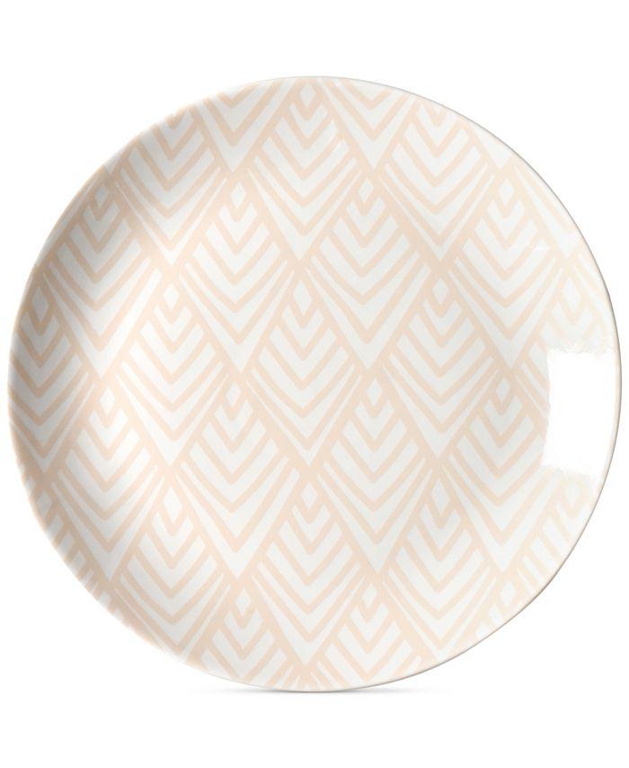 Coton Colors - Blush Layered Diamond Dinner Plate